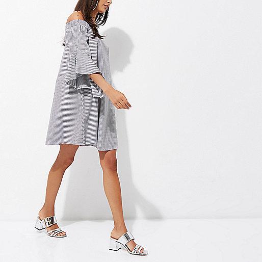 summer dresses, bardot dress
