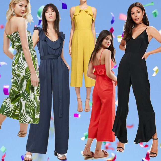 Jumpsuits To Wear To A Wedding: Wedding Jumpsuits: The Occasionwear Trend Of 2017