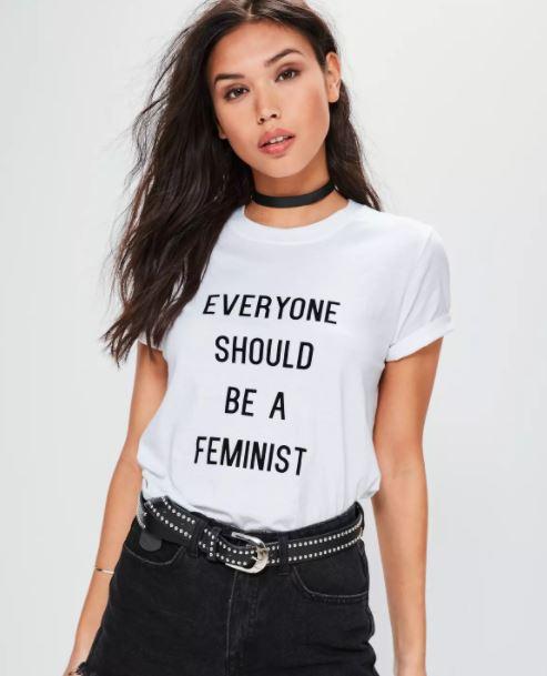 feminist slogan tees