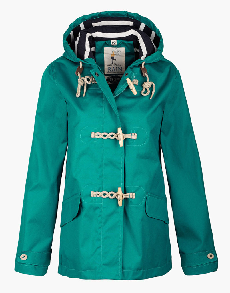 seafolly rain mac jade green