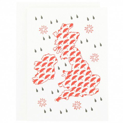 wet weather letterpress