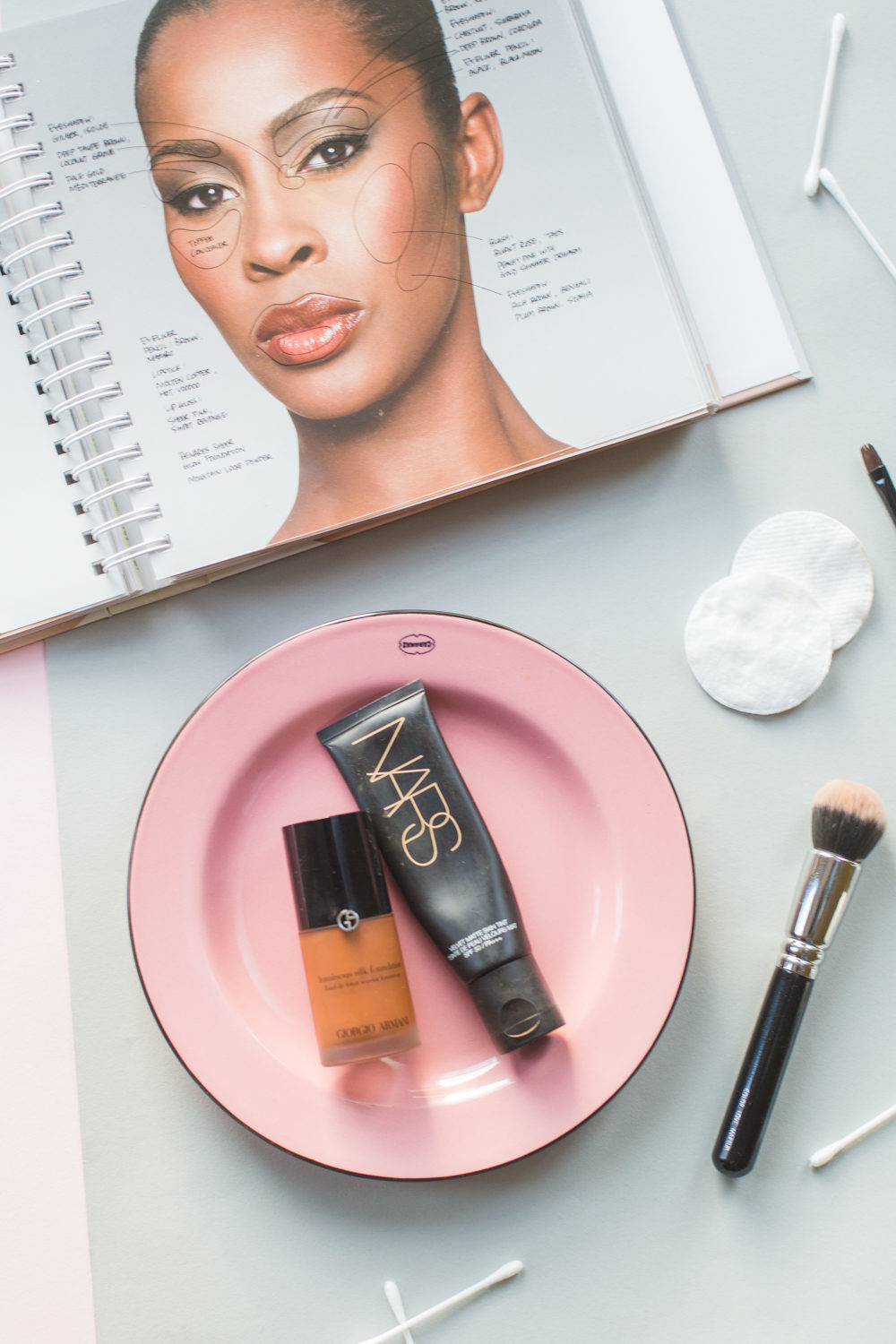 Foundation for darker skin tones