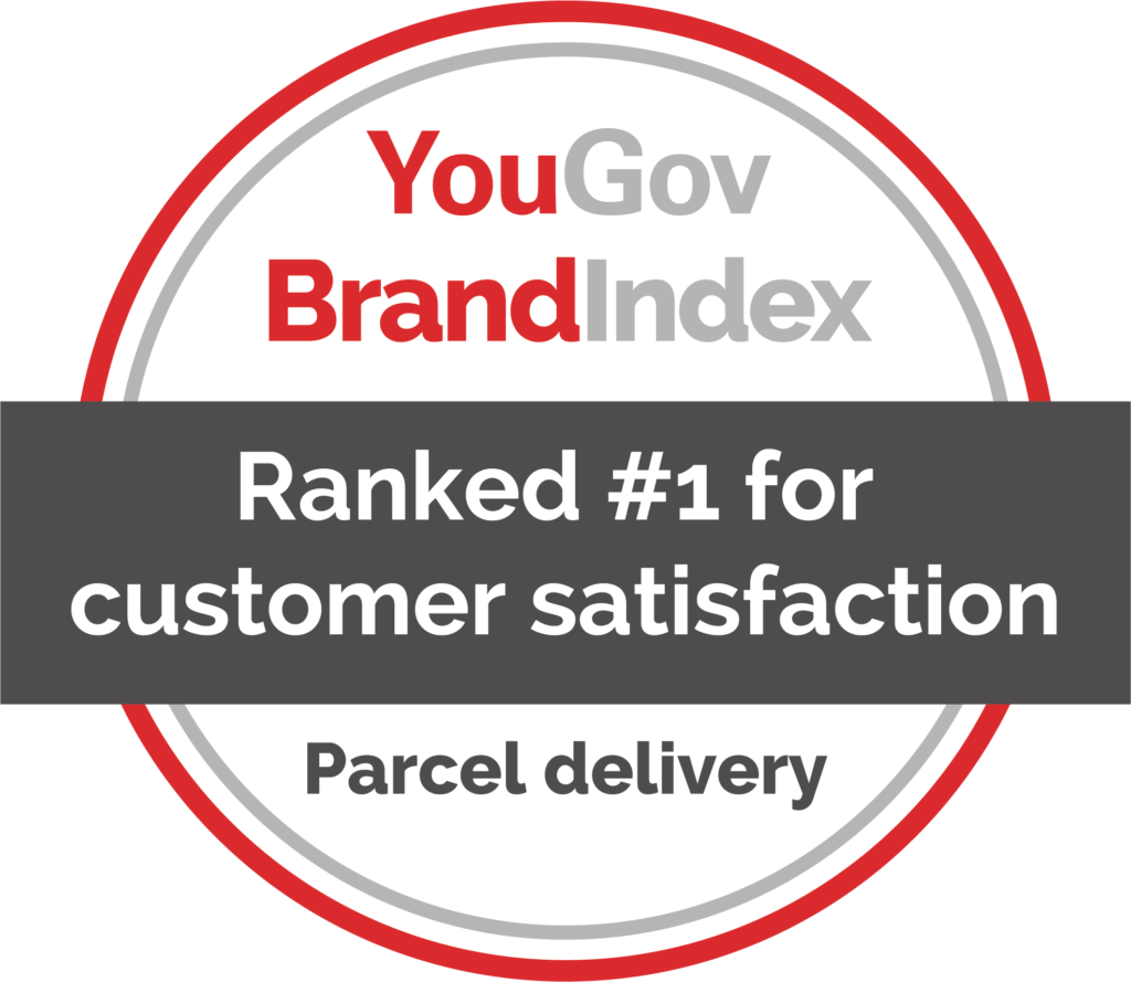 CollectPlus YouGov customer satisfaction score