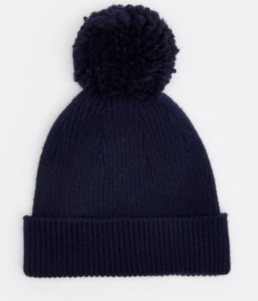 Joules Gracie French Navy Chenille Hat