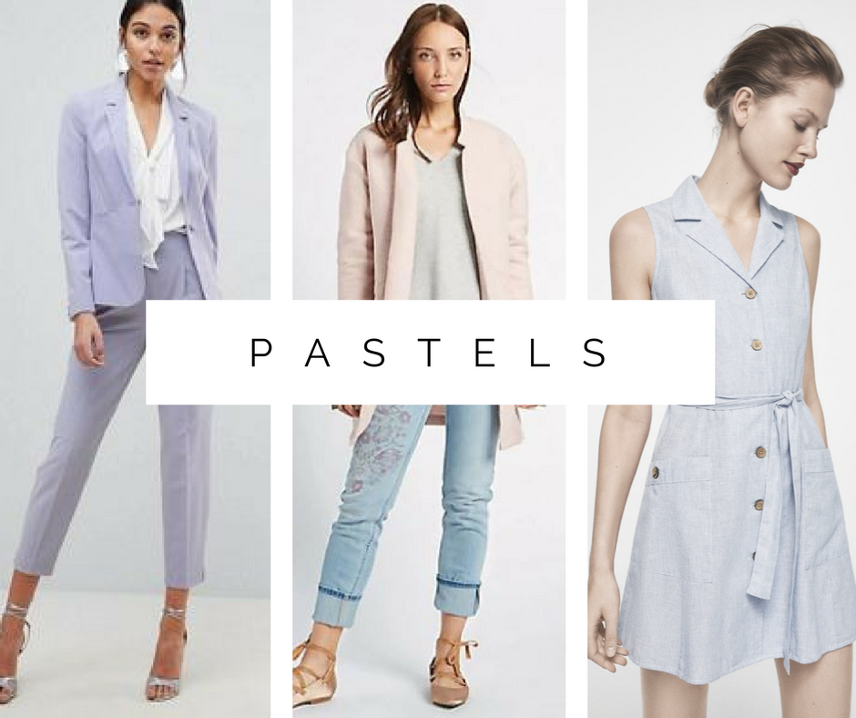 Spring fashion trends: Pastels