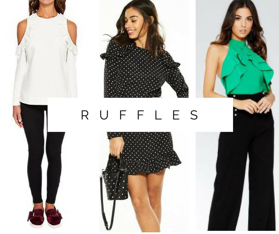Spring fashion trends: Ruffles