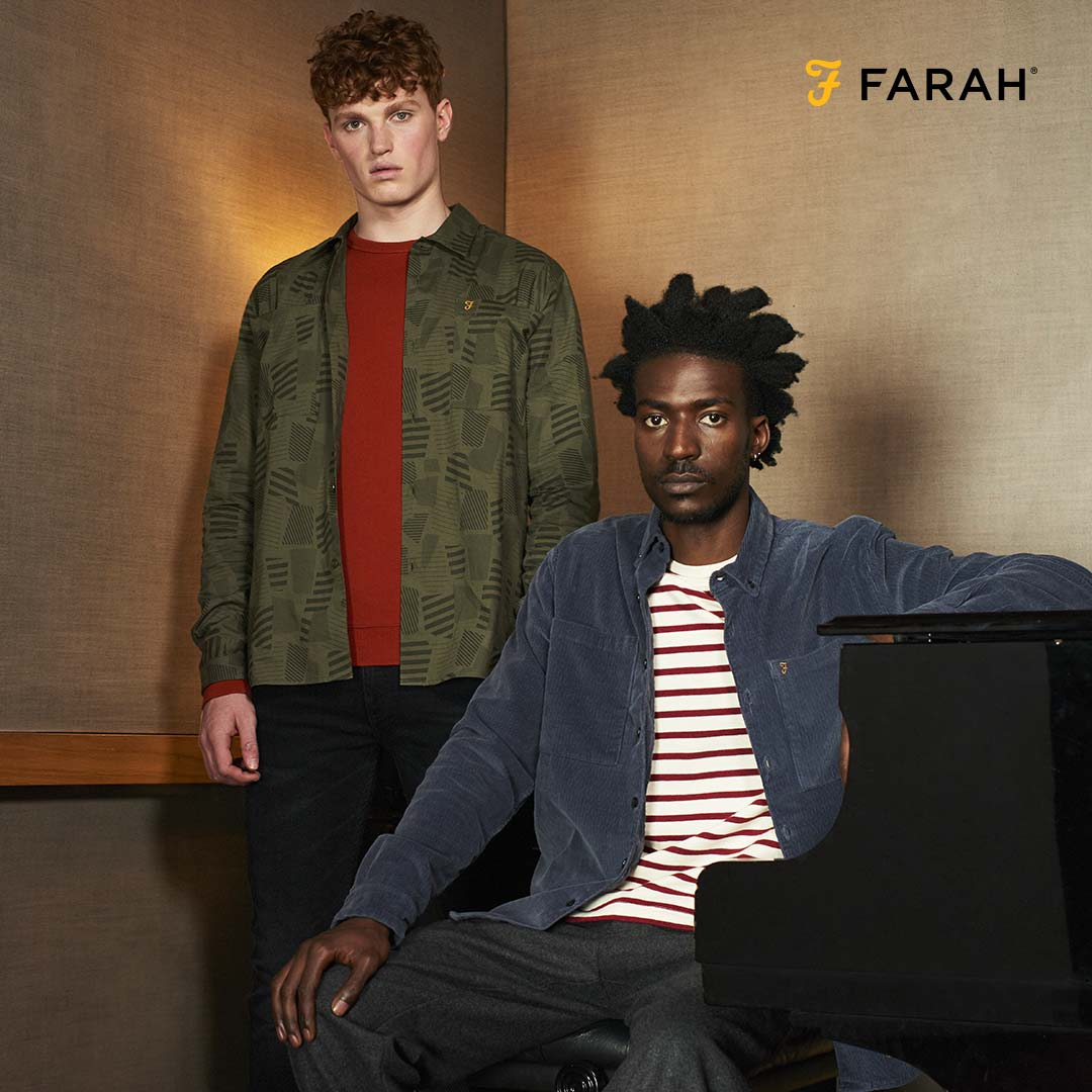Original Penguin and Farah Menswear launch FREE returns with Collect+ 9acc723a4d1b