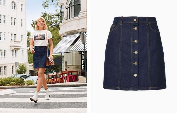 5ae16a3e1a1d Three Different Ways To Style A Denim Skirt - CollectPlus