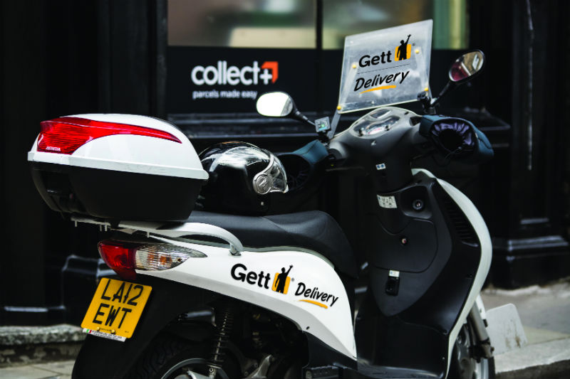 CollectPlus partners with Gett delivery