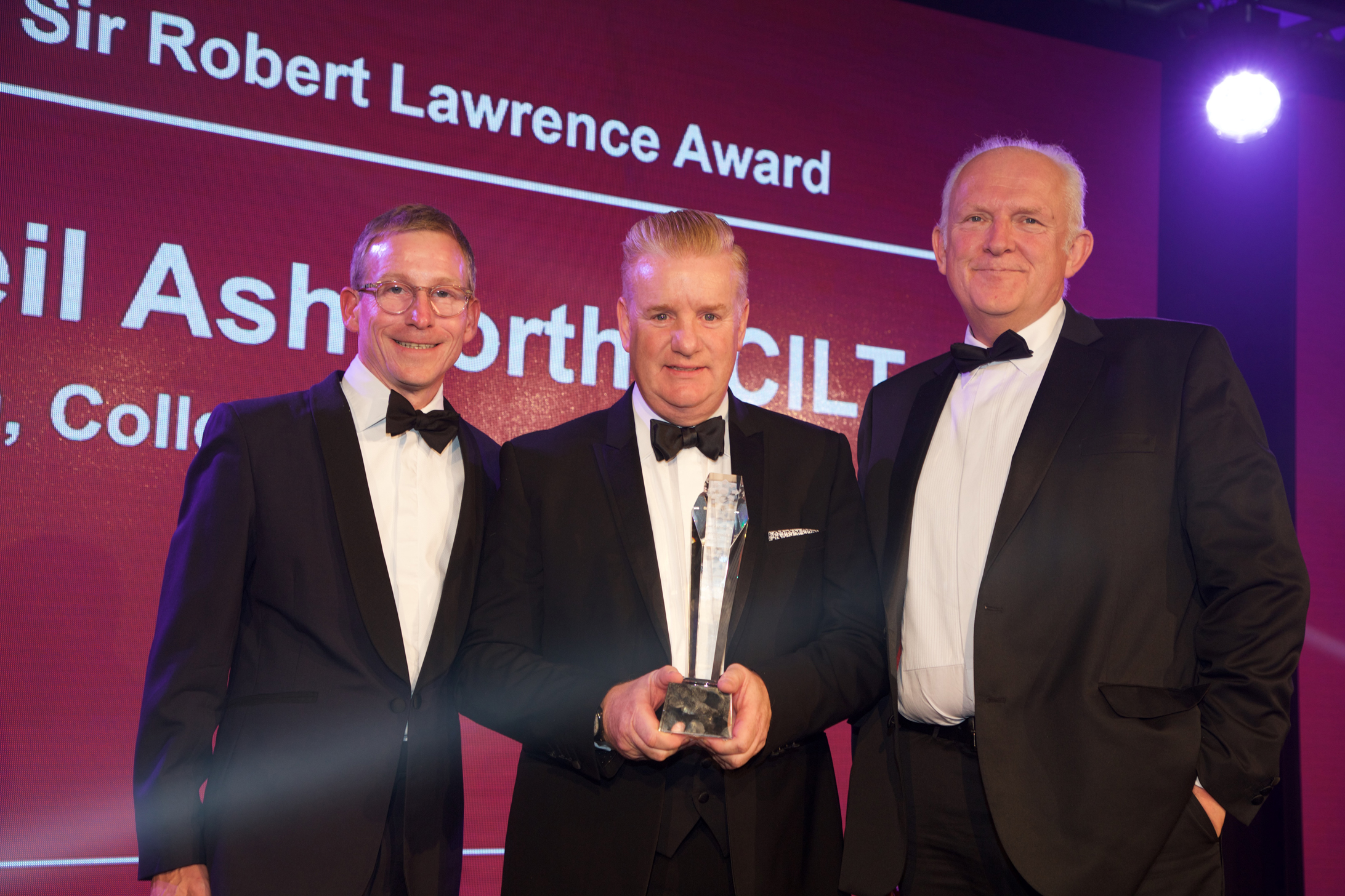 Neil Ashworth CILT Award
