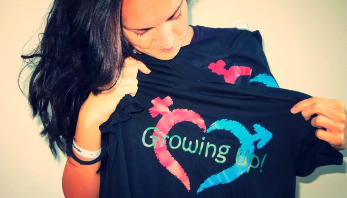 Project Growing Up t-shirts.