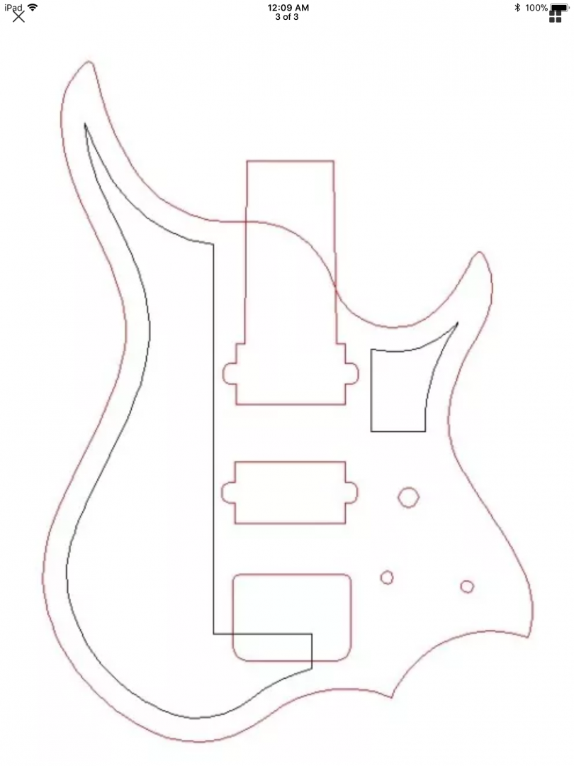 upgrading my nk headless guitar in progress and finished work 12 String Hollow Body Electric Guitar img 0360