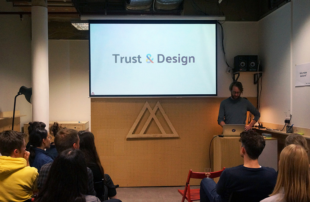 Kicking off our first Trust & Design meetup