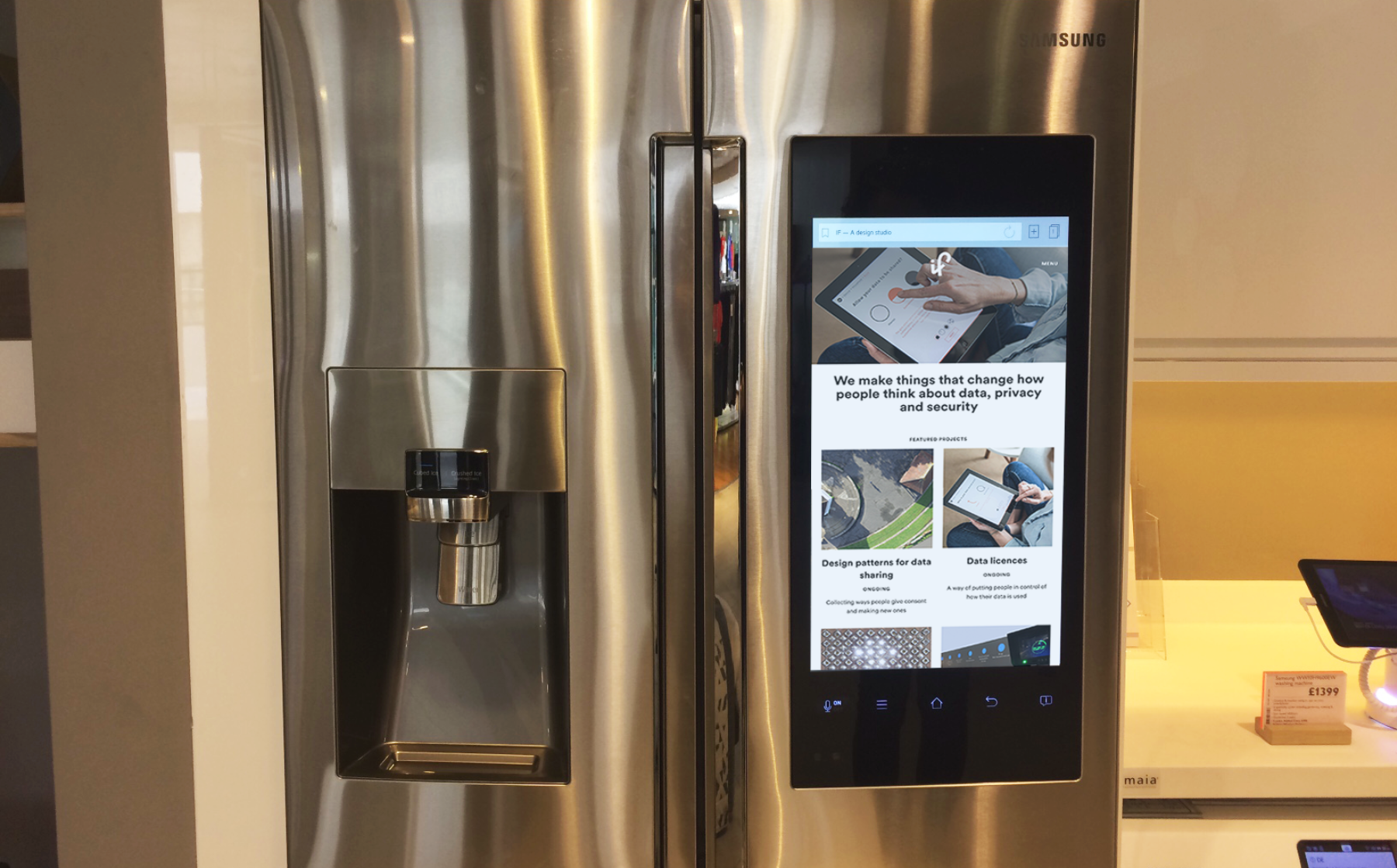 John Lewis Smart Fridge