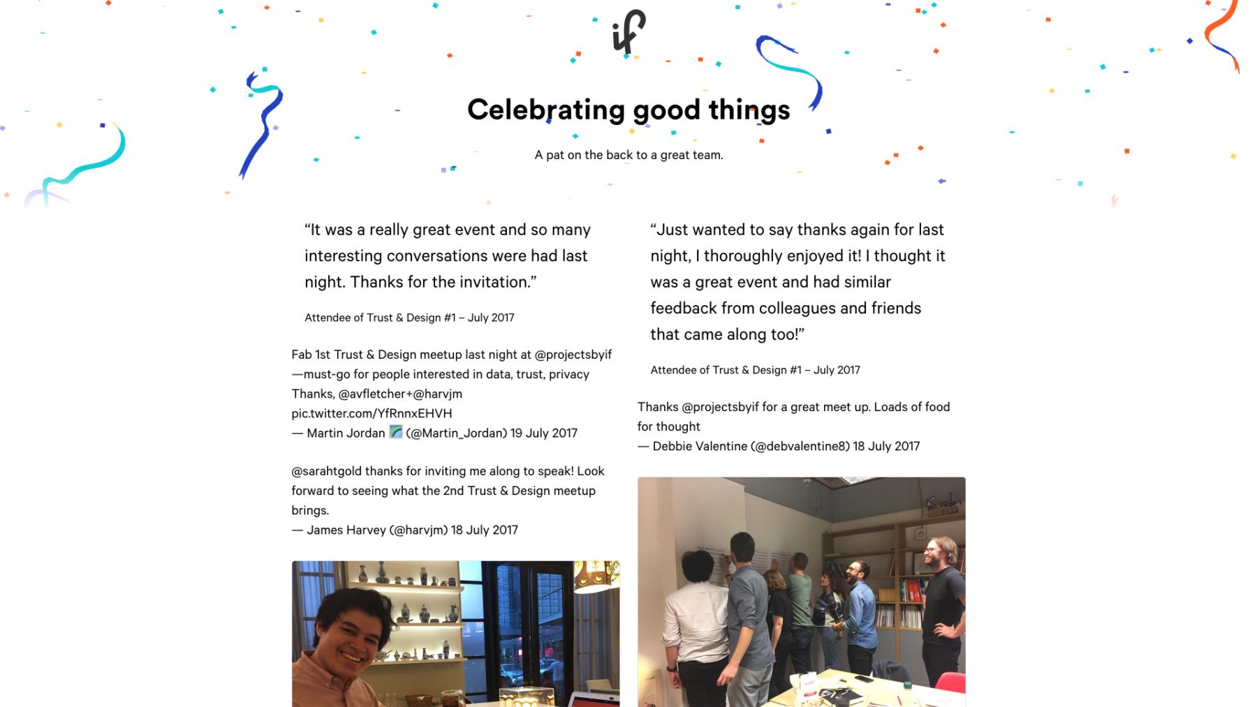 Screenshot Of Celebrate