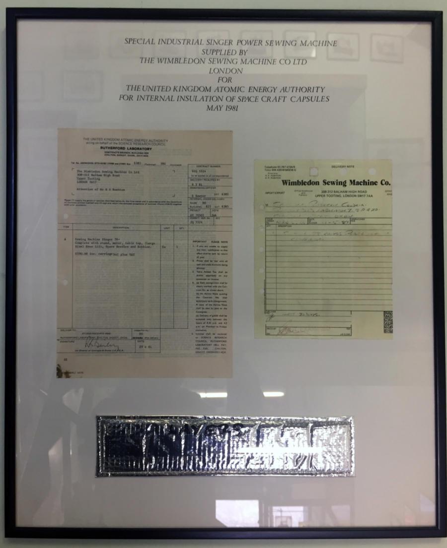 Atomic Energy Invoice