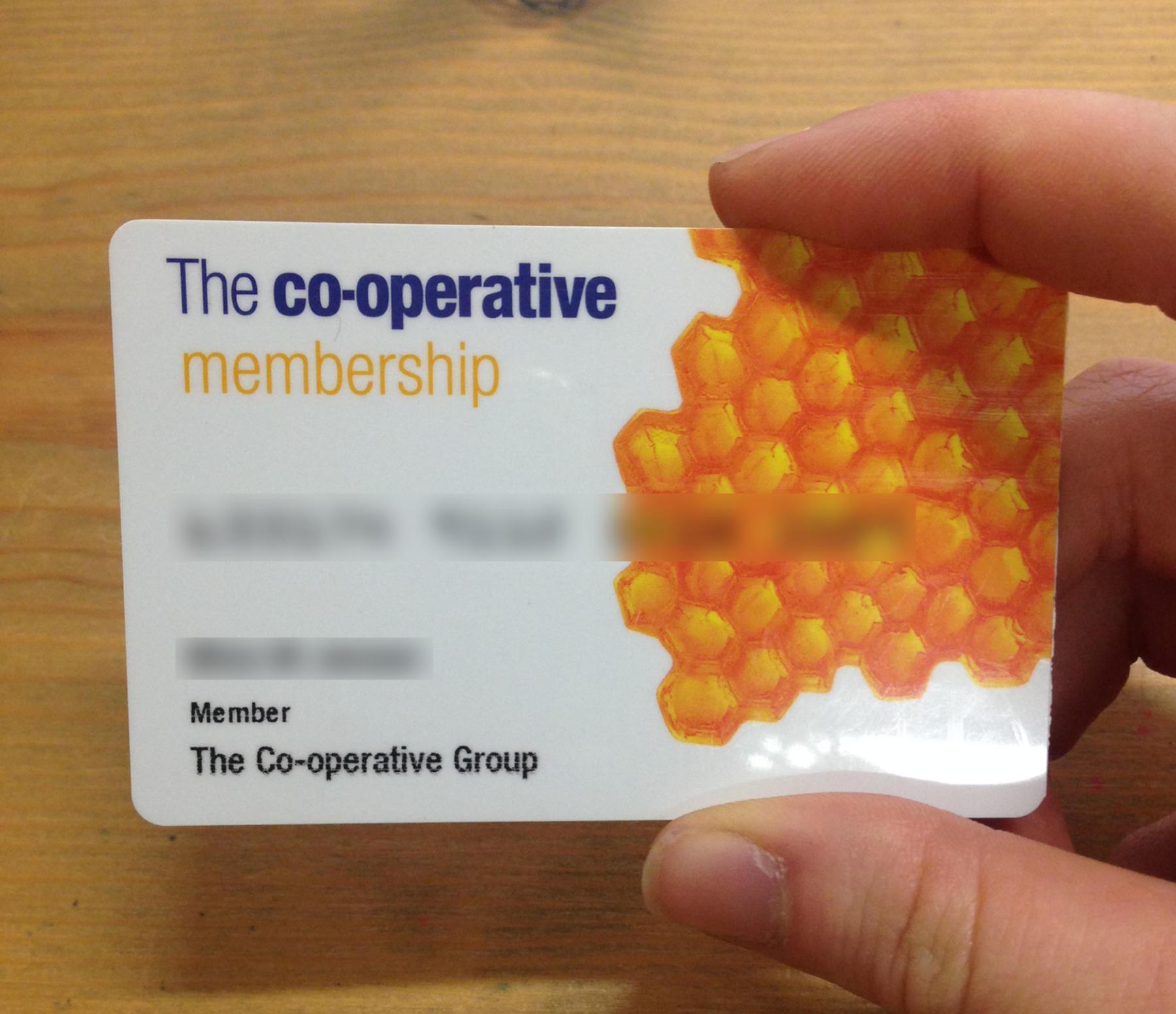 Coop Member Card
