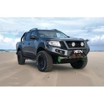 Thumb avatar afn 4x4 front bullbar isuzu d max 2012 2016 complete with winch mount and fog light inserts