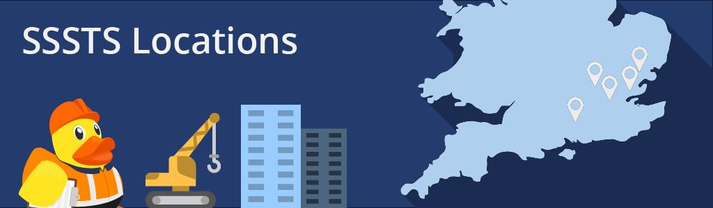SSSTS Locations - Basildon, Chelmsford, Essex, London, Potters Bar, Farnham
