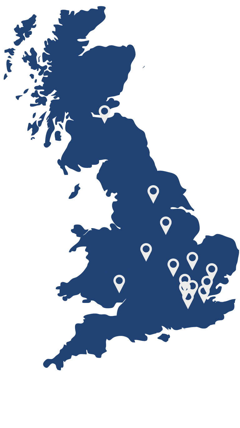 IOSH Locations Map - IOSH Managing Safely