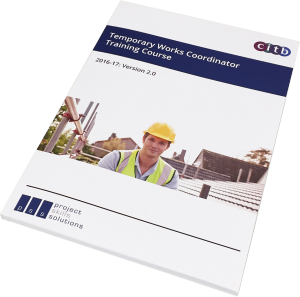 Project skills solutions temporary works coordinator materials - workbook