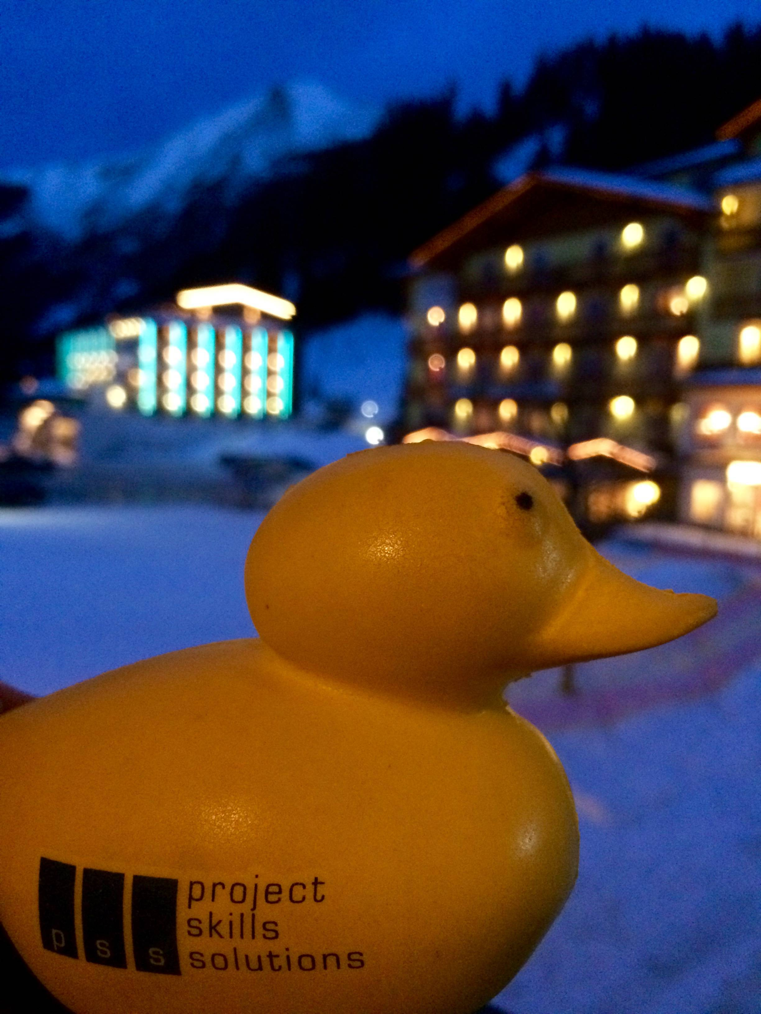Remember the PSS motto... Don\'t Duck Out of Training