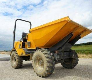 Forward tipping dumper CPCS training