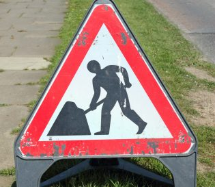 Pulborough streetworks courses - NRSWA Courses - Streetworks sign