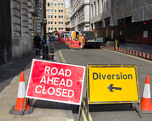 NRSWA Courses in Scotland - Road signs.