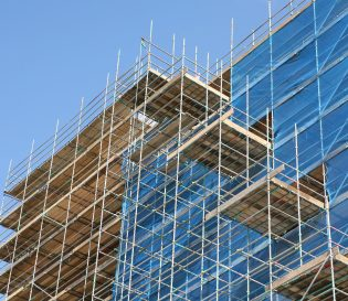 Example of temporary works scaffolding - Temporary works supervisor course