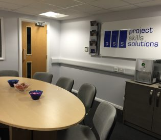Project Skills Solutions break out room for training courses in Basildon, Essex