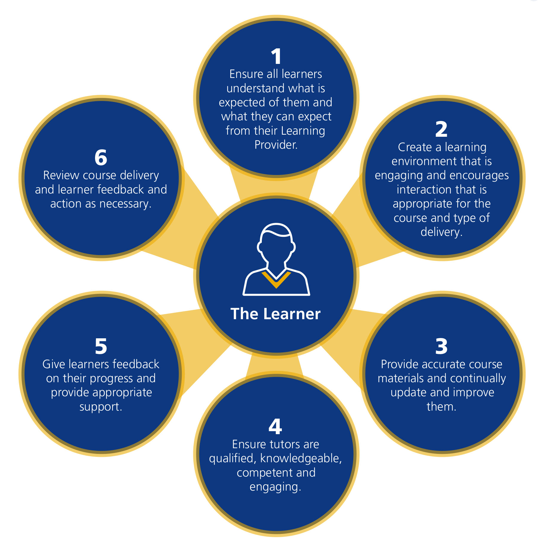 Gold learning principles from NEBOSH