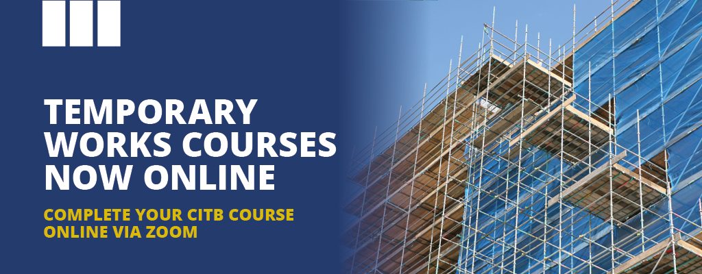 Online CITB Courses Temporary Works Coordinator training course from Project Skills Solutions