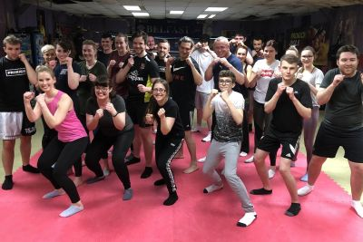 This was the FORTH new squad of wannabe kickboxers to come through the doors of ProKick from January 2020. This new ProKick 6-week course started on the 17th February 2020