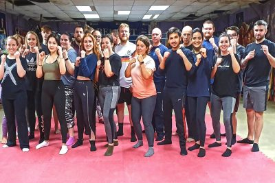 This was the THIRD new squad of wannabe kickboxers to come through the doors of ProKick in January 30th 2020.