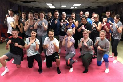 This was the FIFTH new squad of wannabe kickboxers to come through the doors of ProKick from January 2020. This new ProKick 6-week course started on the 3rd March 2020