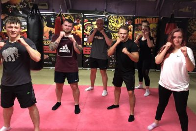 A super job to all who finished the six-week course in style with a very hard bag session. It all happened last night Monday 31st August 2020.