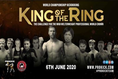 June 6th 2020 Poster - Unfortunately, Covid-19 KO'd not just Johnny's quest but the entire show along with every other sporting fixture across the UK & Europe.