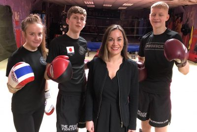 Barrister Backs Prokick Teens - Thank you Suzanne, this was much appreciated, said Coach Billy Murray who will mentor and travel with the team