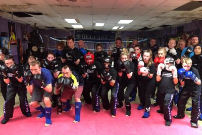 A brand new beginners #kickboxing #sparring course kicked off at #prokickgym last night Wednesday 8th JAN at 6pm. Well done all, a great night's work