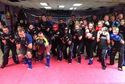 A brand new beginners #kickboxing #sparring course kicked off at #prokickgym five weeks ago on Wednesday 8th JAN at 6pm. Well done all, a great five week with the last night coming up.