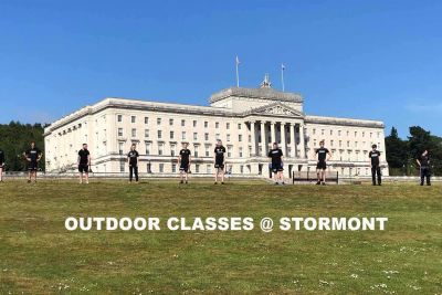 Saturday we will stage an outdoor fitness style class on Sat 10am Stormont (Same place as before) at the back gates Massey Ave. Please be there for 9;50am ready to kick-off at 10am sharp.