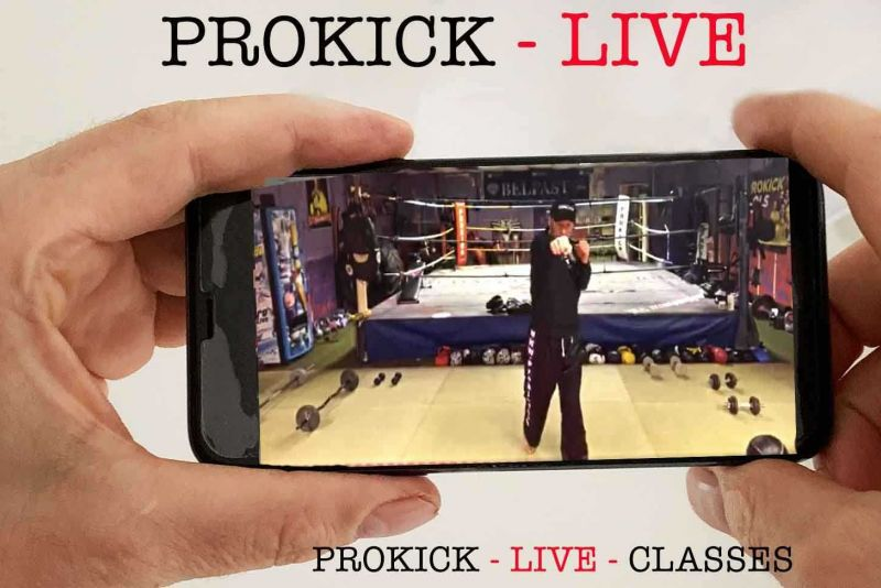 Join us for a ProKick Live fitness Class on Friday 10th April 2020 @ 7pm