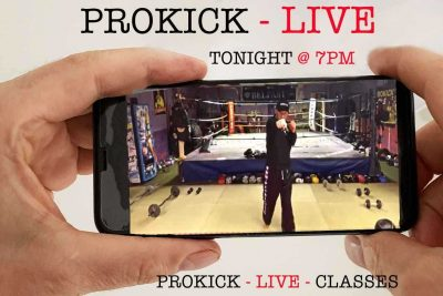 Want to take part in this ProKick LIVE Class TONIGHT Thursday @ 7pm by #BillyMurray - If the answer is yes, search for 'ProKick Live Class' on FaceBook and request access