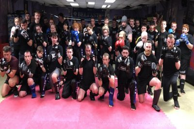 Pictured here are the team for Week 2 of the ProKick New Level 2 Sparring Course 26th Feb 2020
