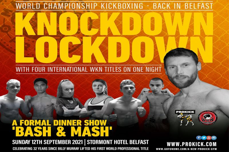 Ready to say goodbye to lockdown life? Ready for something to look forward to? Look no further than ProKick's Knockdown Lockdown!