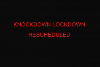 Its with deep regret that I have decided to postpone our Sold-out event, 'KnockDown LockDown' - scheduled at the Stormont Hotel set for September 12th 2021. The show has been moved until 27th November 2021 at the same venue, the Stormont Hotel.