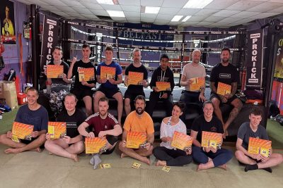 This afternoon the Gym was inundated with kickboxers from our adult classes all in search of the same, excellence in the Sport of kickboxing