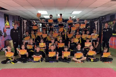 A day to remember Sunday 29th August 2021. Young Kickboxing enthusiasts were tested in the hope of moving to the next level. Just three levels from beginner to green belt levels were tested at the ProKick Gym in Belfast.