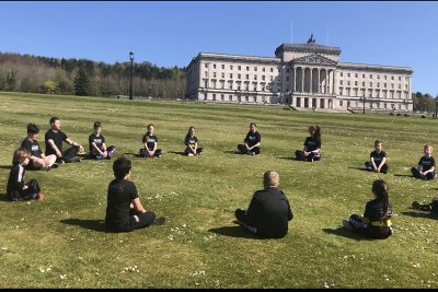 Kids At Stormont - we have two classes again this week on Saturday Morning of the 15th May. The first at 10 am beginners to Orange belts level. Next up we have a senior kids class at 11am to 11:45am